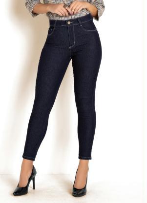 Calça Cigarrete Básica (Jeans Escura) Sawary
