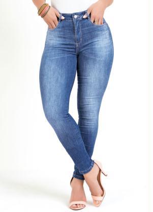Calça Compressora (Jeans) Sawary