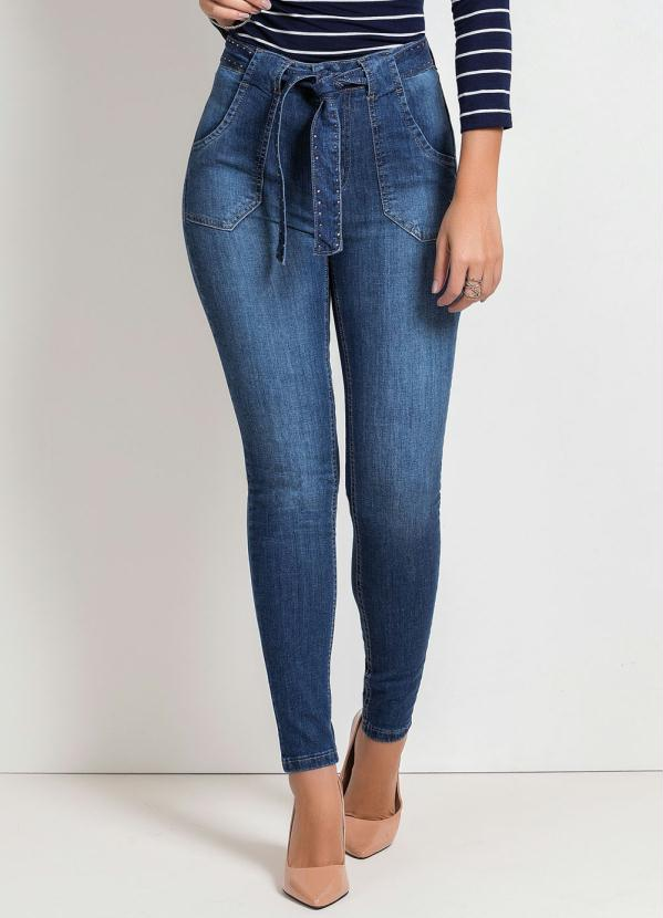 Calça Hot Pants Cigarrete (Jeans) Sawary
