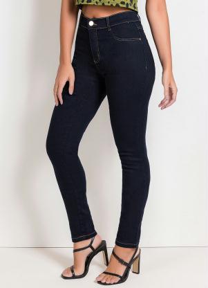 Calça Hot Pants Legging (Jeans Escuro) Sawary