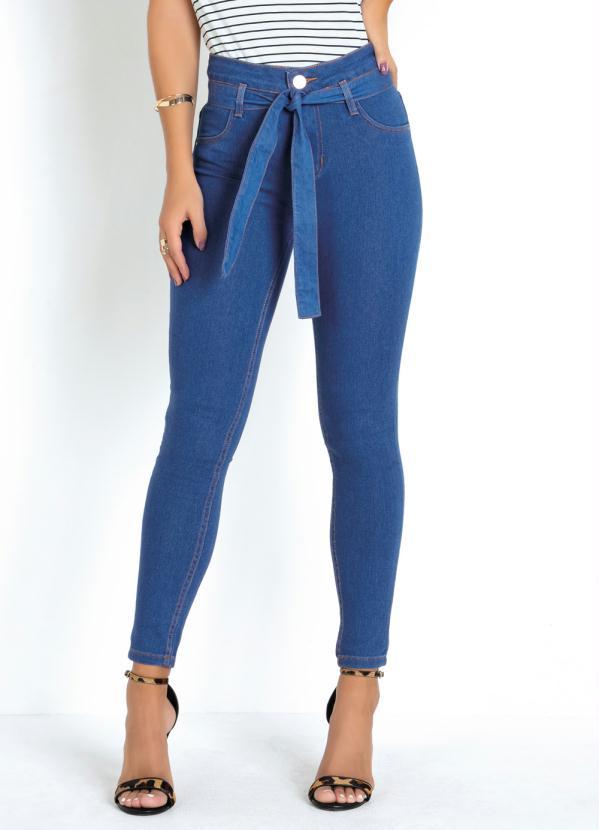 Calça (Jeans) Clochard com Amarração Sawary