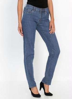 Calça Jeans Corte Clássico (Azul Médio)