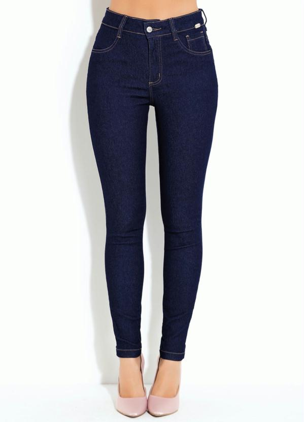 Calça (Jeans Escuro) Skinny
