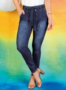 Calça Jeans Hot Pants com Faixa Sawary