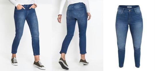 23486eb25 Score: 0.0 Calça Jeans Skinny Azul Médio