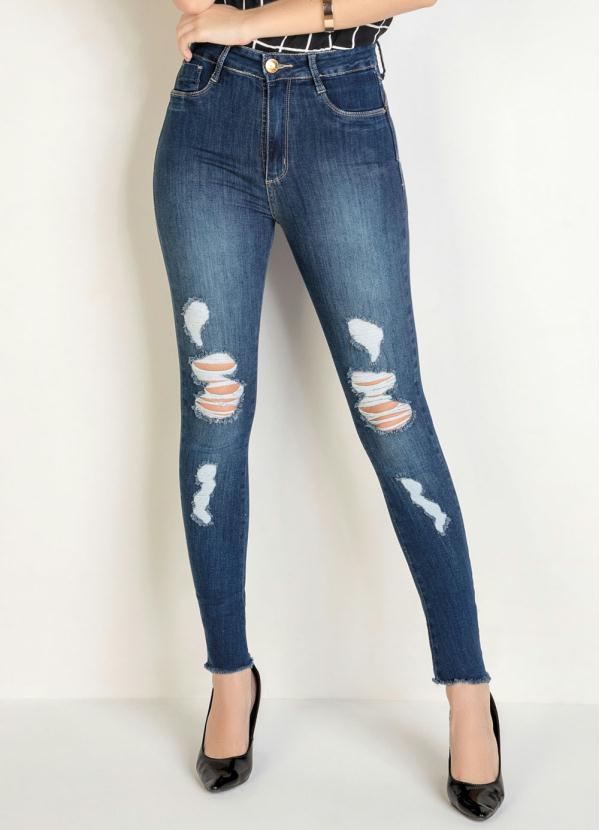 Calça (Jeans) Super Lipo Legging Sawary