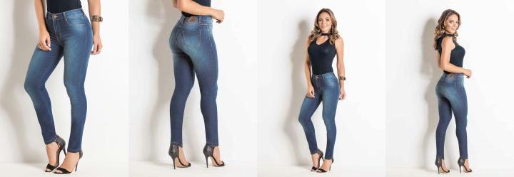Calça Legging Jeans Sawary com Elastano