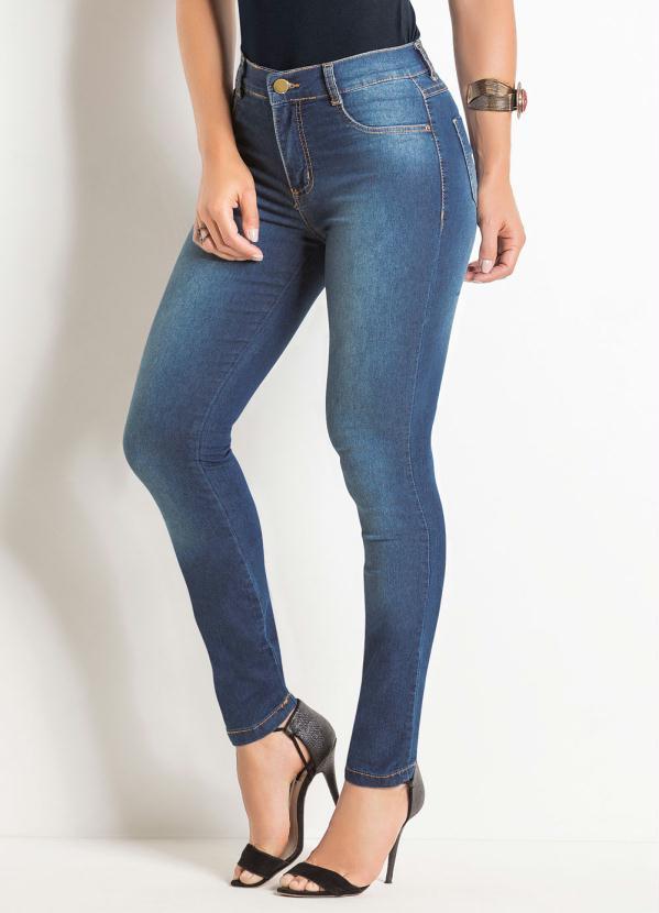 Calça Legging (Jeans) Sawary com Elastano