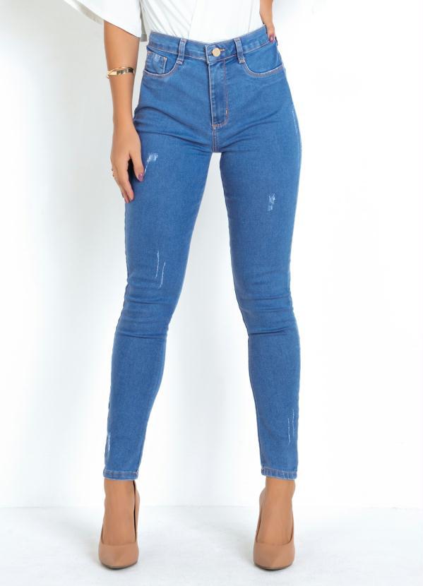 Calça Super Lipo (Jeans) Sawary