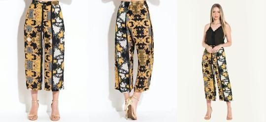 82d93e746 Calça Pantalona - Moda Feminina - Quintess