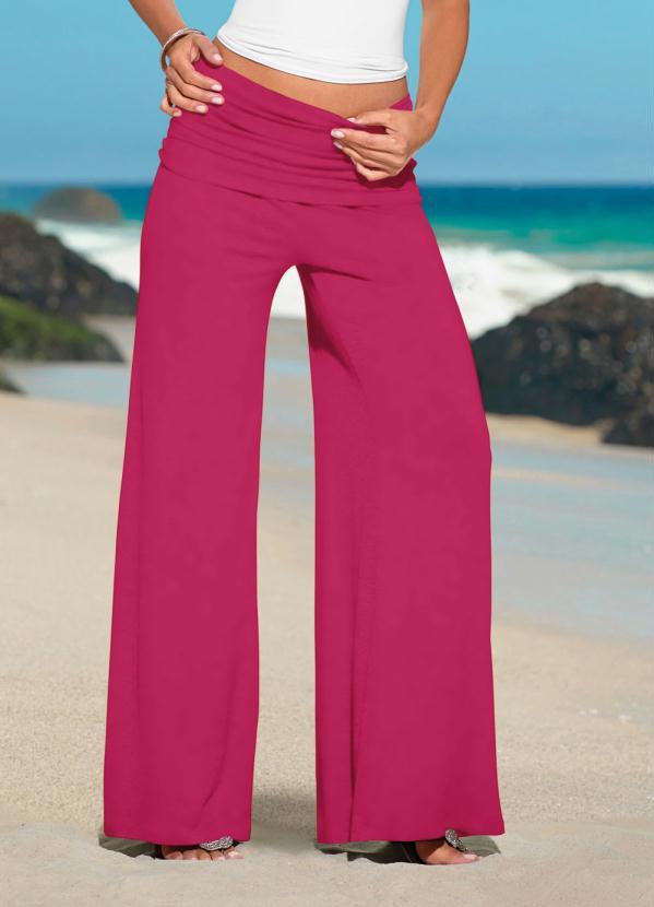 Calça Pantalona (Rosa Pink)
