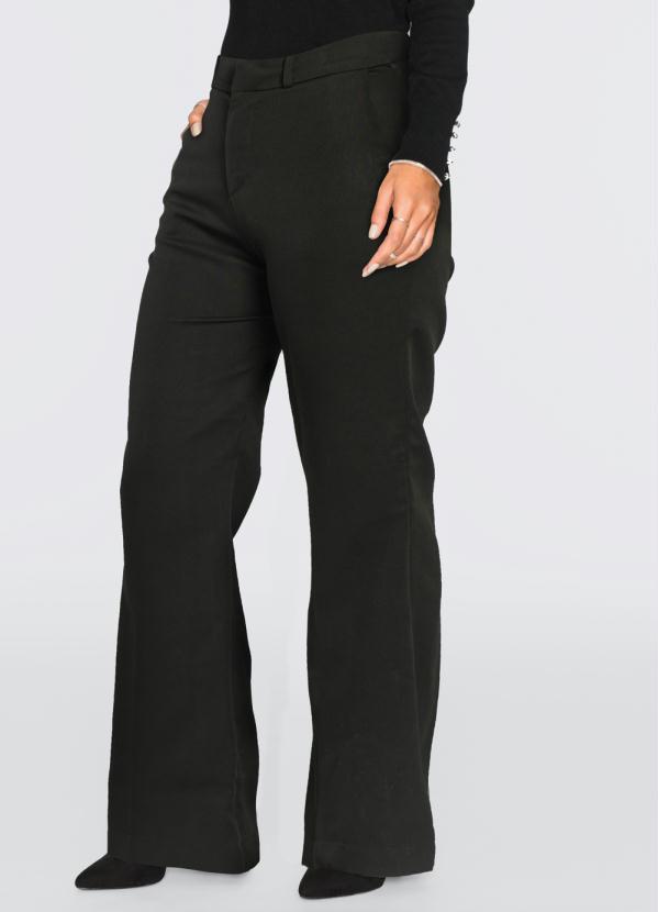 Calça Pantalona (Preta)