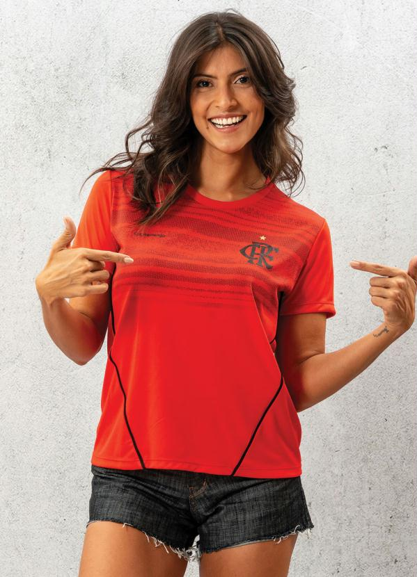 Camiseta Flamengo Dribble (Vermelha)