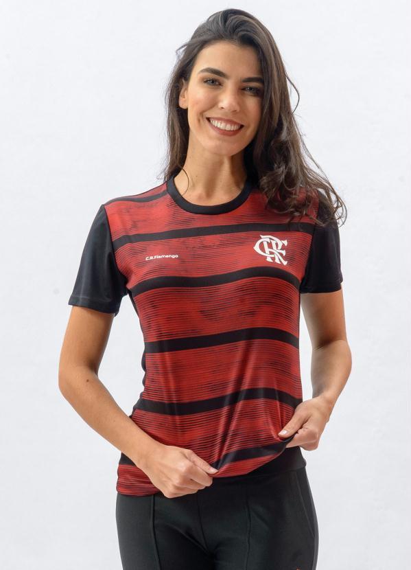 Camiseta Flamengo Proud (Preta)