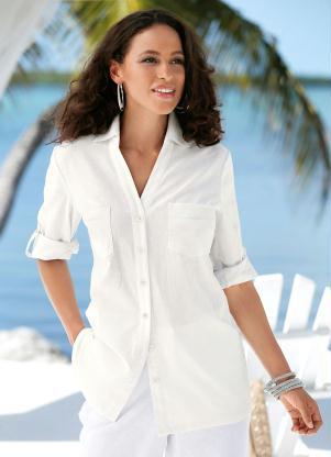 d0972ae0d Camisa de Linho Off White - Quintess
