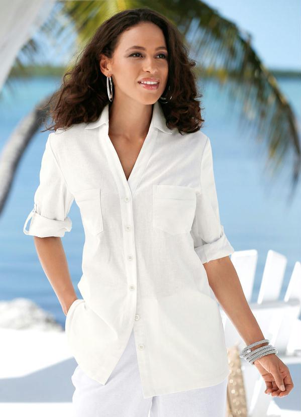 Camisa de Linho (Off White)