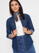 Camisa Jeans Gola Padre Azul