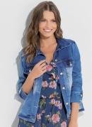 Jaqueta Jeans Estonado