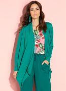 Casaco Verde com Recorte Central