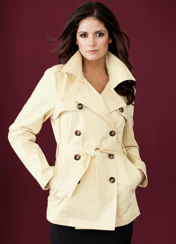 Casaco Trench Coat (Bege)