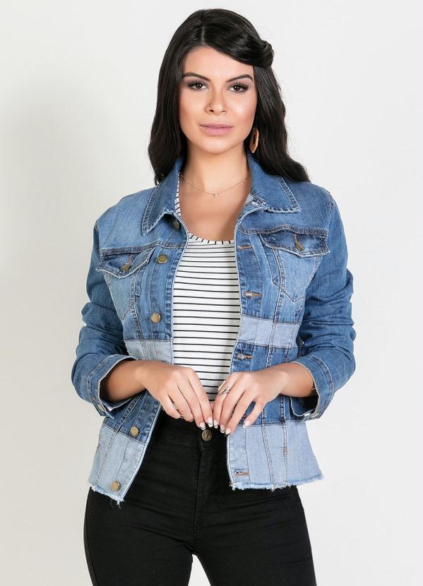 Jaqueta Bicolor (Jeans) Sawary