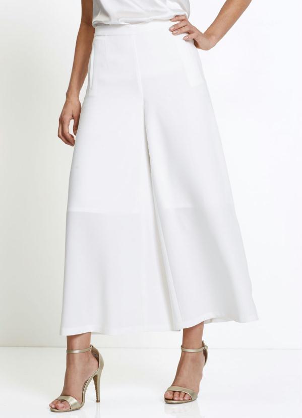 Calça Alfaitaria Pantalona (Branca)