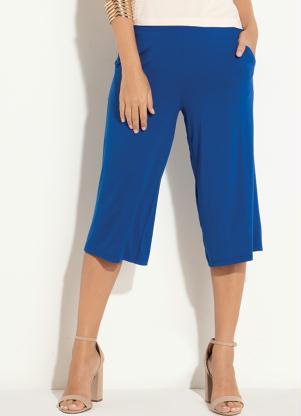 Calça (Azul) com Bolso Funcional