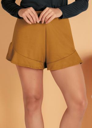 Shorts (Caramelo) com Babadinho