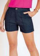 Short Jeans com Bolsos Funcionais