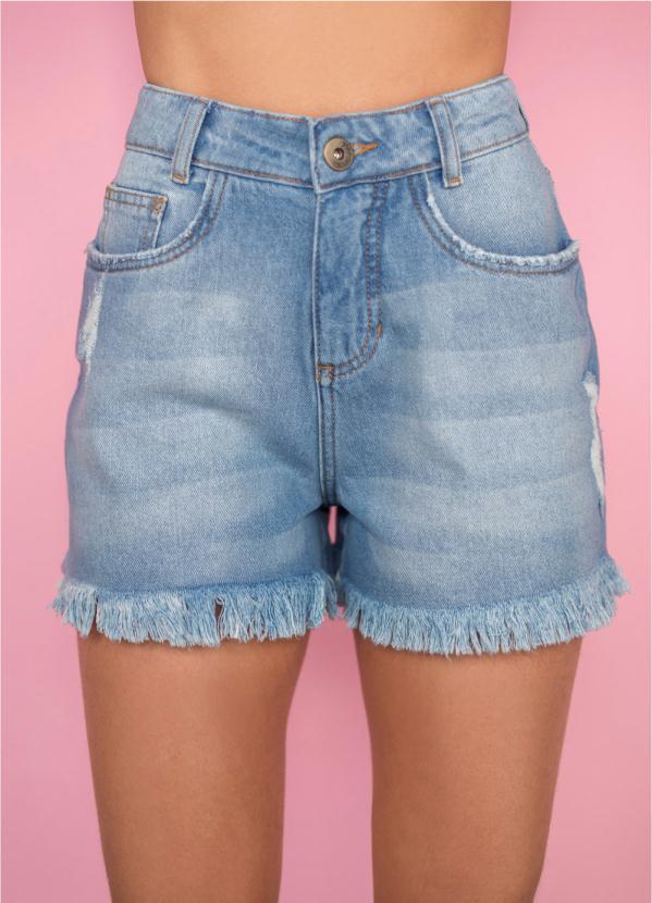 Short Jeans (Azul)
