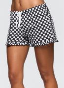 2 Unidades de Shorts Preto/Poá