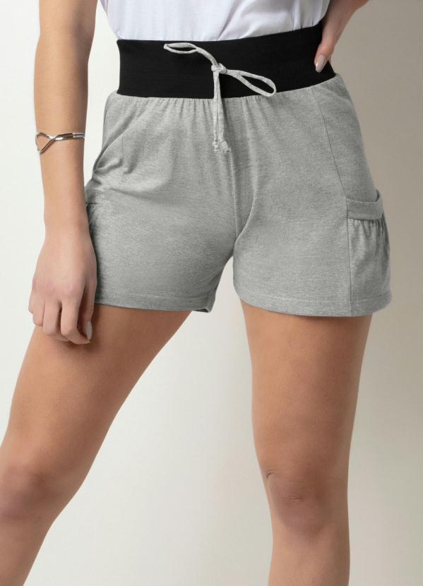 Short (Cinza) Feminino
