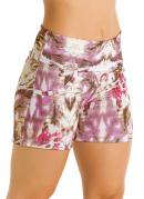 SHORT FEMININO (ESTAMPADO)