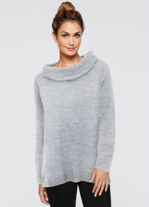 Suéter (Cinza)