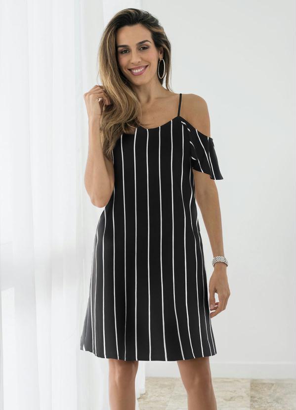 Vestido Ciganinha (Preto)