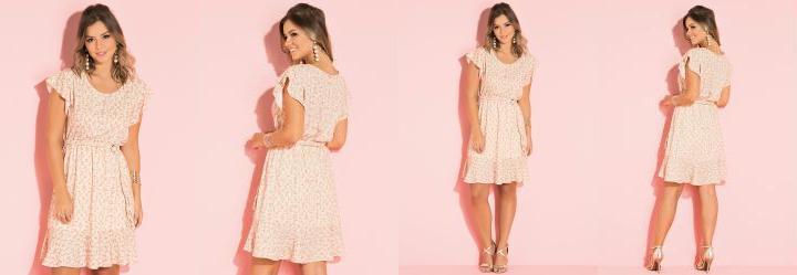 53752bd3b Vestido de Festa - Plus Size Feminino - Quintess
