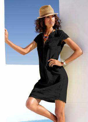Vestido de Linho (Preto)