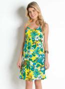 Vestido Soltinho de Alças Floral