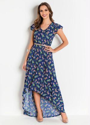 bc4603ff7 Vestido Mullet Floral Moda Evangélica - SouLojista