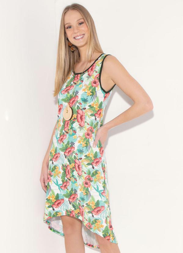 Vestido Quintess (Floral) Muttet