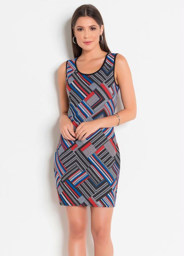 Vestido Tubinho (Geometrico)
