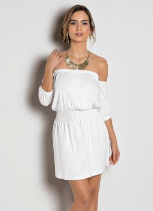 Vestido Ciganinha (Branco)