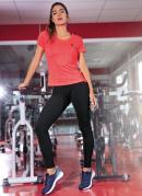 Camiseta Olympikus Essential Coral