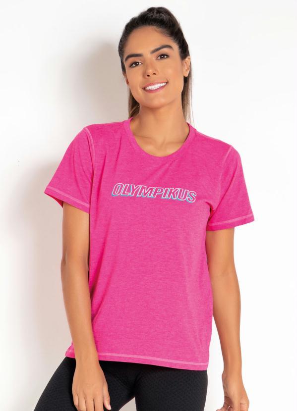 Camiseta T-Shirt Olympikus (Pink)