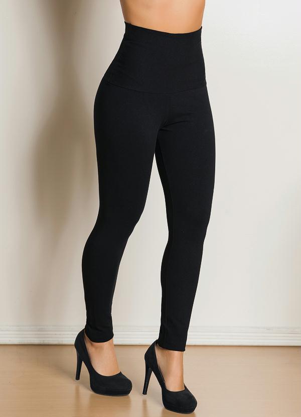 Calça Legging (Preta)