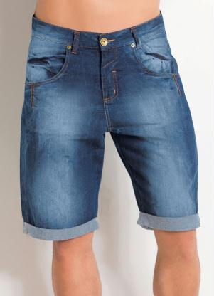 Bermuda (Jeans) Barra Dobrada