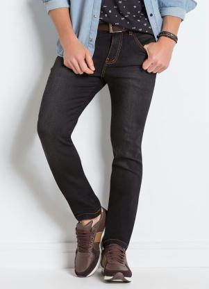 Calça (Jeans Preto) Actual