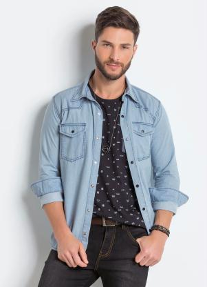 Camisa (Jeans Claro)