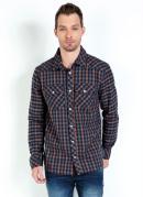 Camisa Nicoboco Fechamento em Botões Xadrez