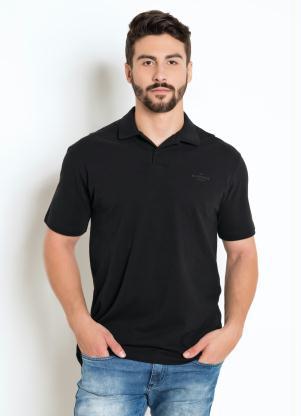 Camisa Polo Nicoboco (Preta)